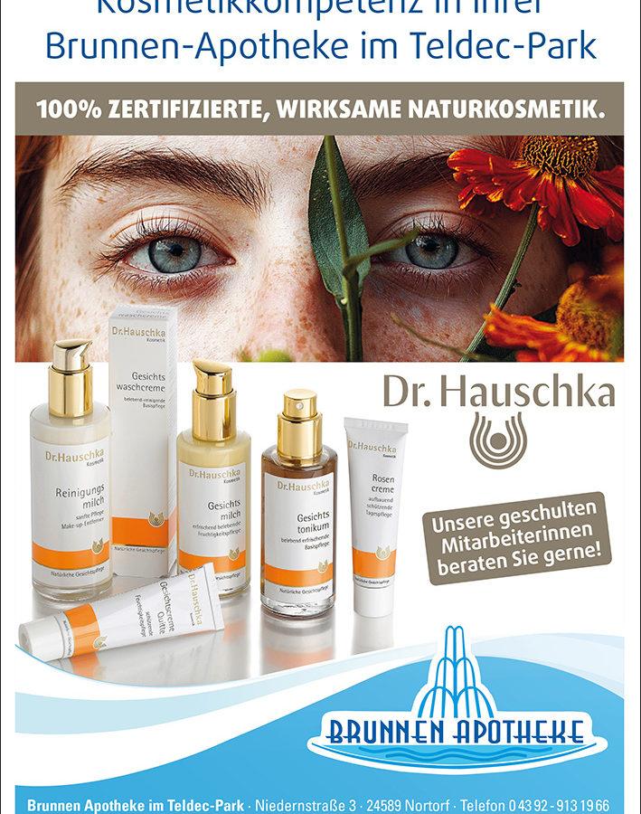 Kosmetikkompetenz in Ihrer Brunnen-Apotheke im Teldec-Park (Dr. Hauschka)