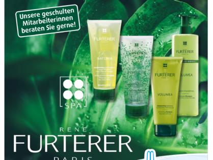 Neu: Pflegeserie von René Furterer